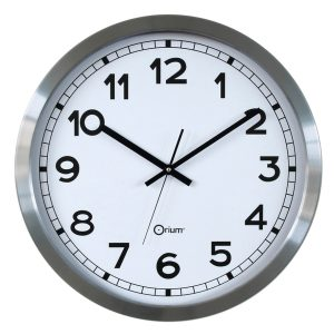 Basic metal clock Ø50cm - AIC International