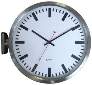 "Double face ""station"" clock - AIC International"