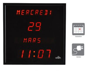 Digital clock with date - AIC International