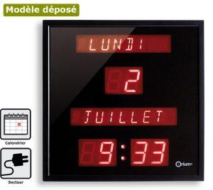Horloge à date digitale - AIC International