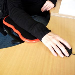 Ergonomic arm rest
