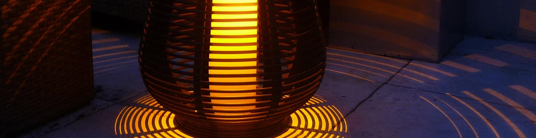 Décoration solaire Electro 30 Led 78cm