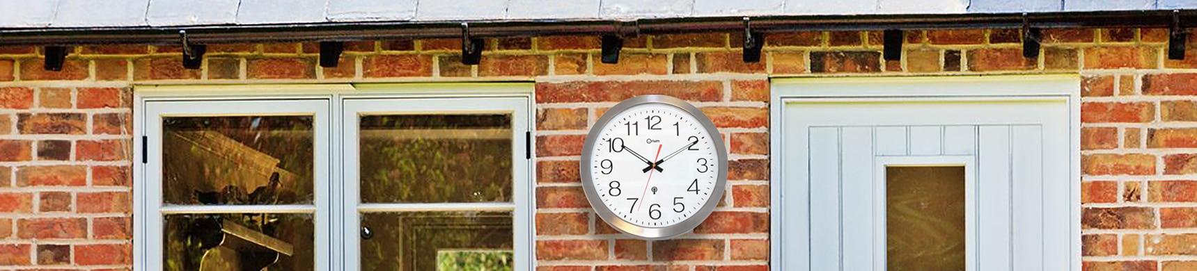 Horloge étanche inox Ø 35 cm