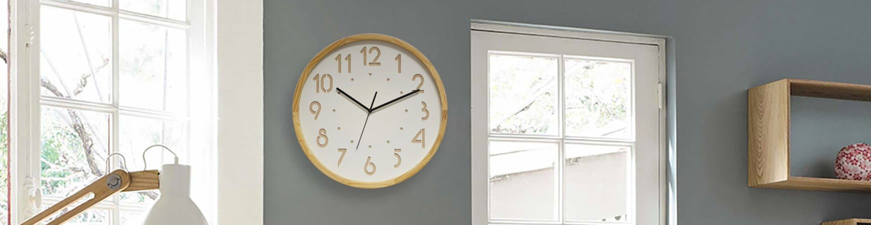 Horloge Eleganta Silent Ø29cm