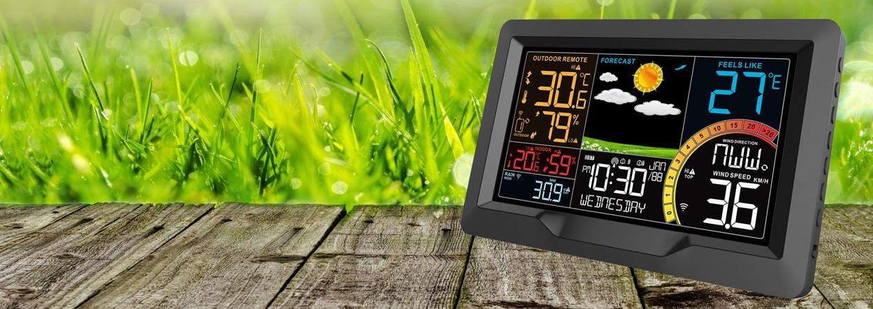 Horloge météo RC  27 cm
