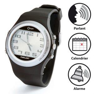 Dual dial speaking watch