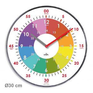 Horloge Practice Ø30 cm