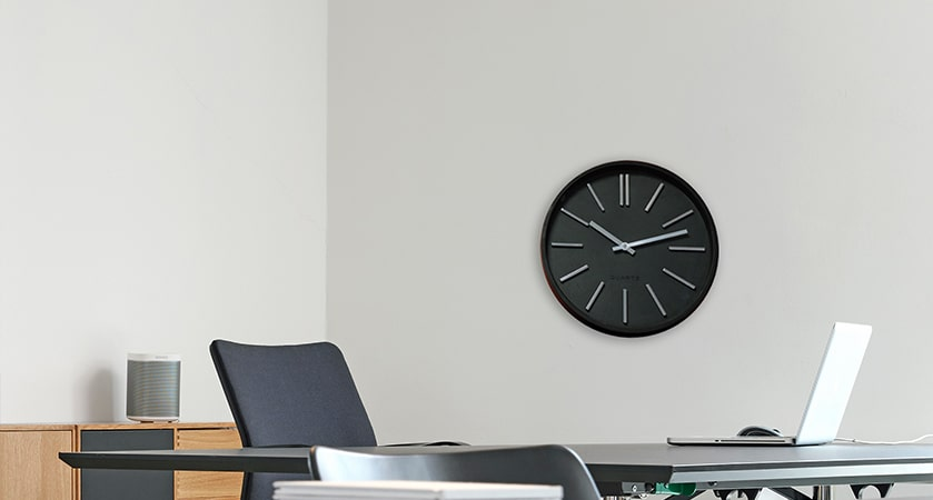 Horloge silencieuse Glam'Hour Ø30 cm
