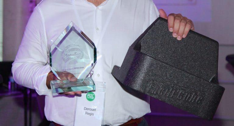 Le Facili'Cube, nouveauté d'AIC International, récompensé à 2 reprises !