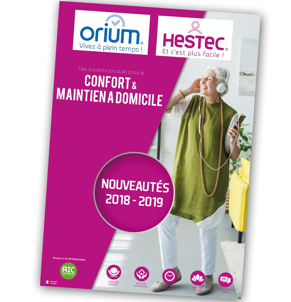Catalogue Nouveautés Confort 2018/19