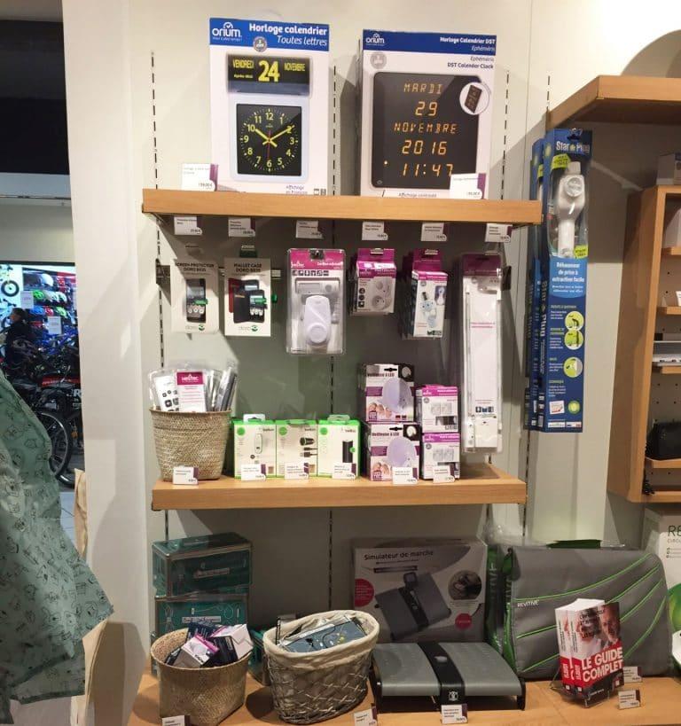 Nos produits HESTEC et ORIUM dans le magasin «Bien chez Moi», nouvelle enseigne des Mousquetaires
