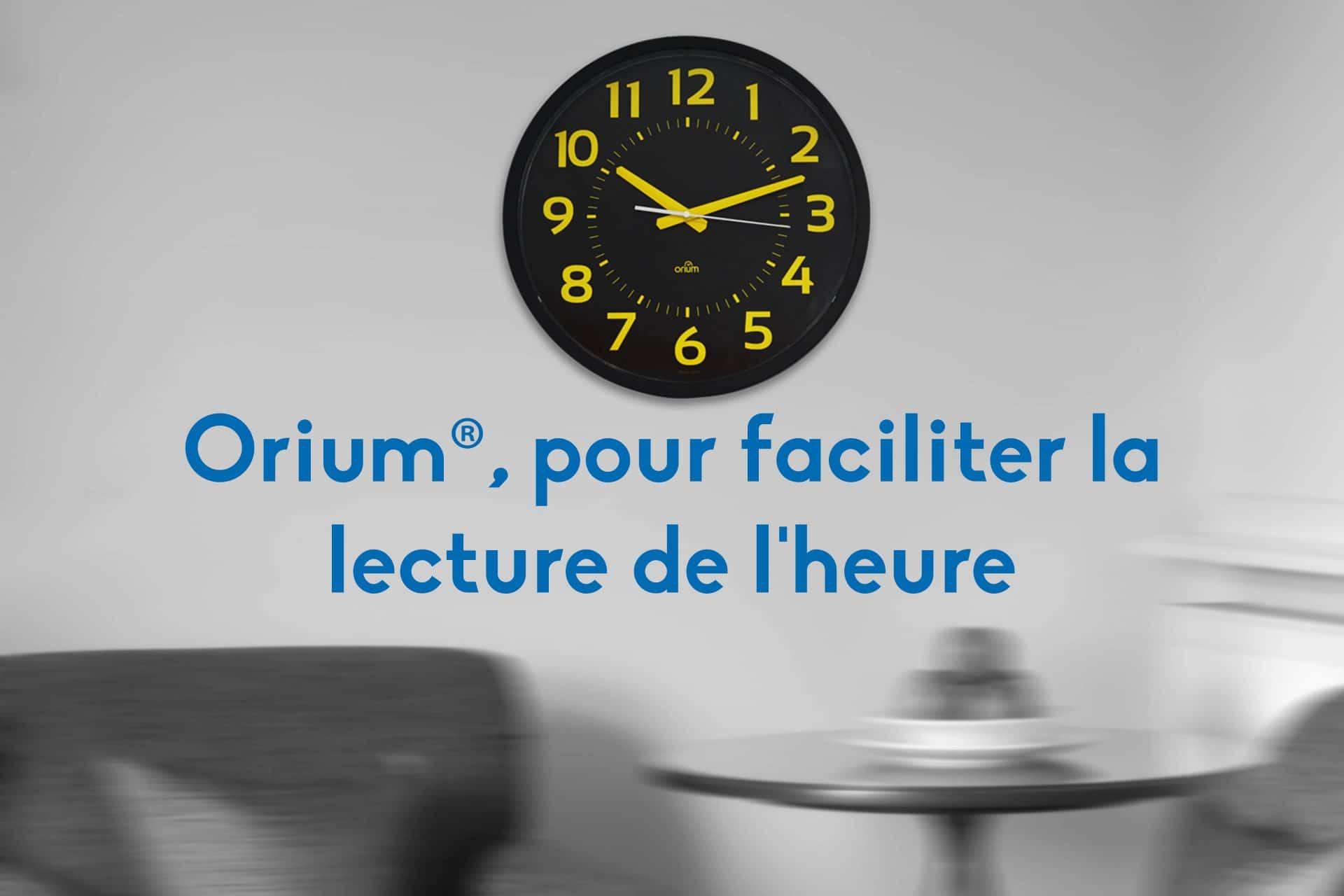 Des horloges, des montres et des réveils adaptés pour faciliter la lecture de l'heure!