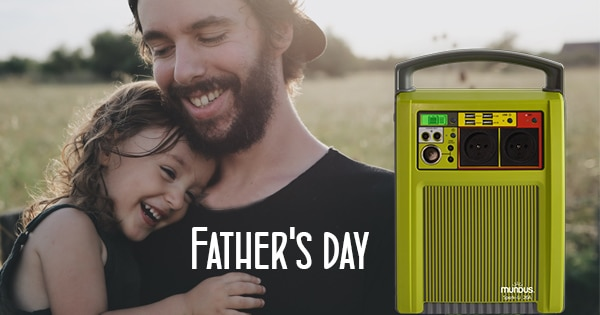 Father's day: 16th June 2019 in France !