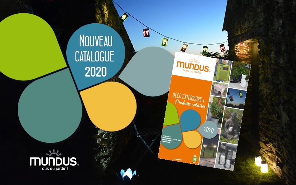 Mundus®, découvrez le nouveau catalogue Jardin 2020