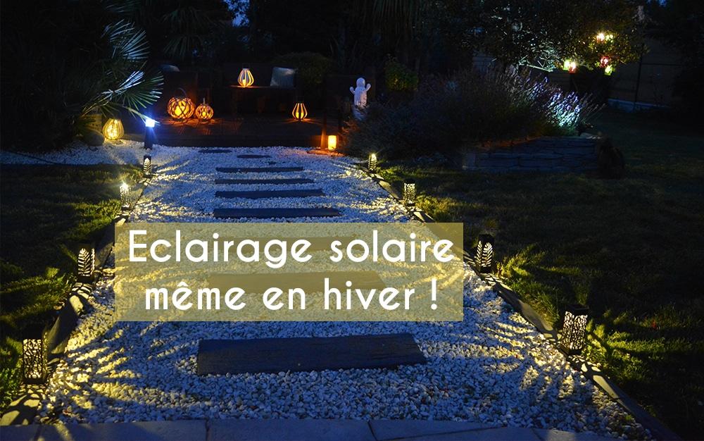 Changement de saison, l'éclairage solaire Mundus® même en hiver!