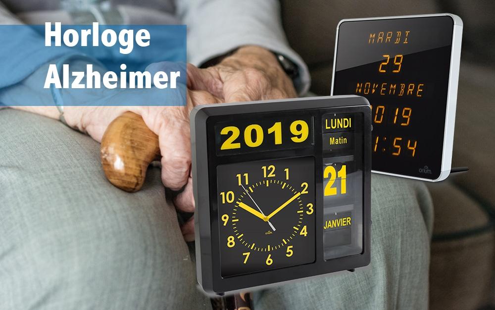 Horloge Alzheimer : la solution Orium®!