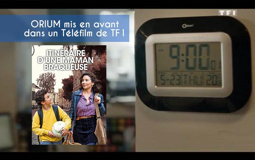Une horloge Orium® mise à l'honneur sur TF1!