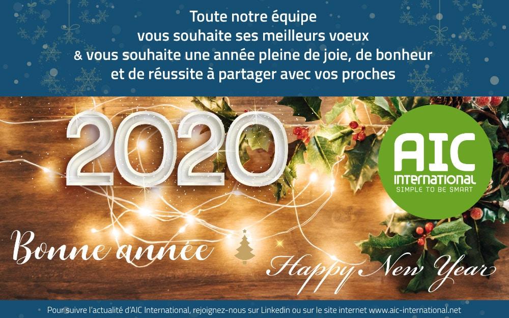Tous nos meilleurs voeux pour 2020!