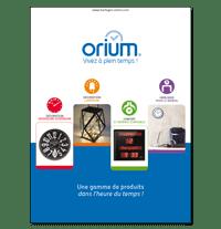 Plaquette Orium