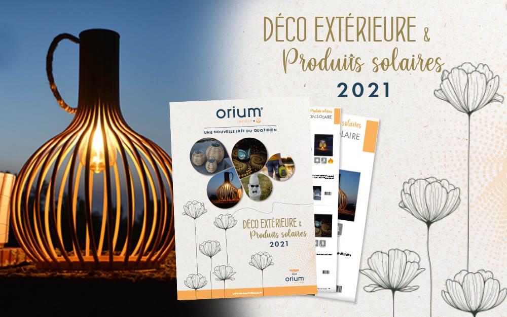 Vous l'attendiez ? Le nouveau catalogue Orium® Jardin est arrivé!