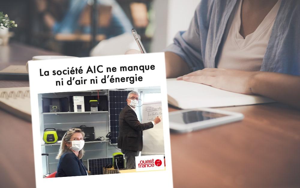 On parle d'AIC International dans la presse !