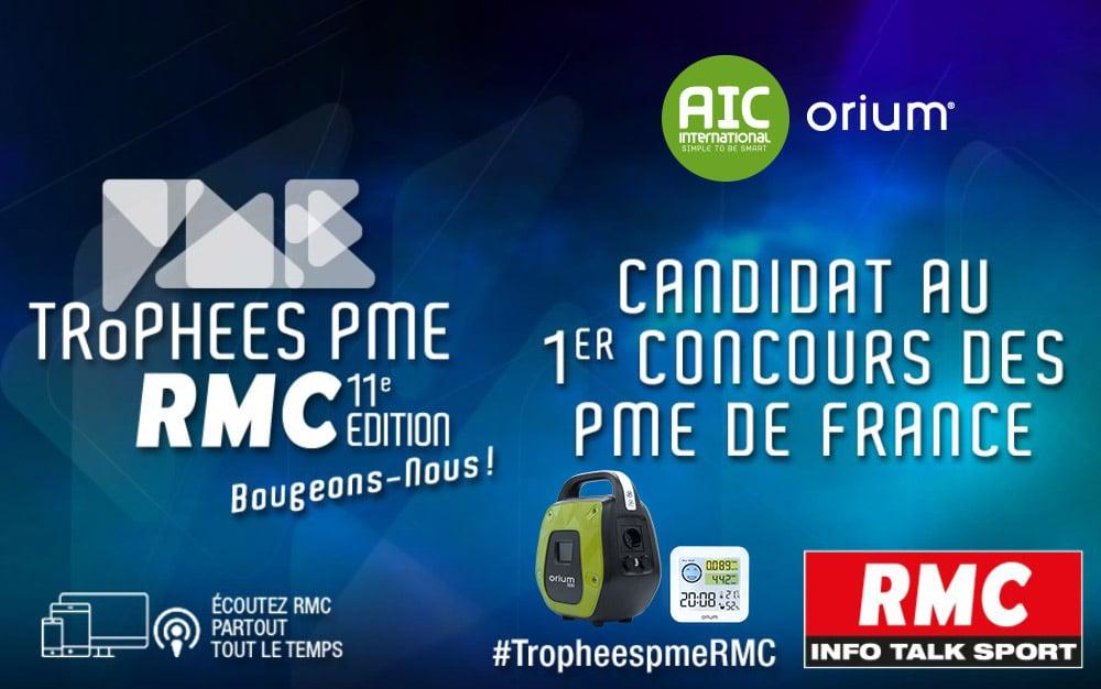 La candidature d'AIC International validée pour le Trophée PME RMC