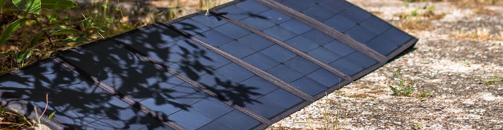 Foldable solar panel 30W