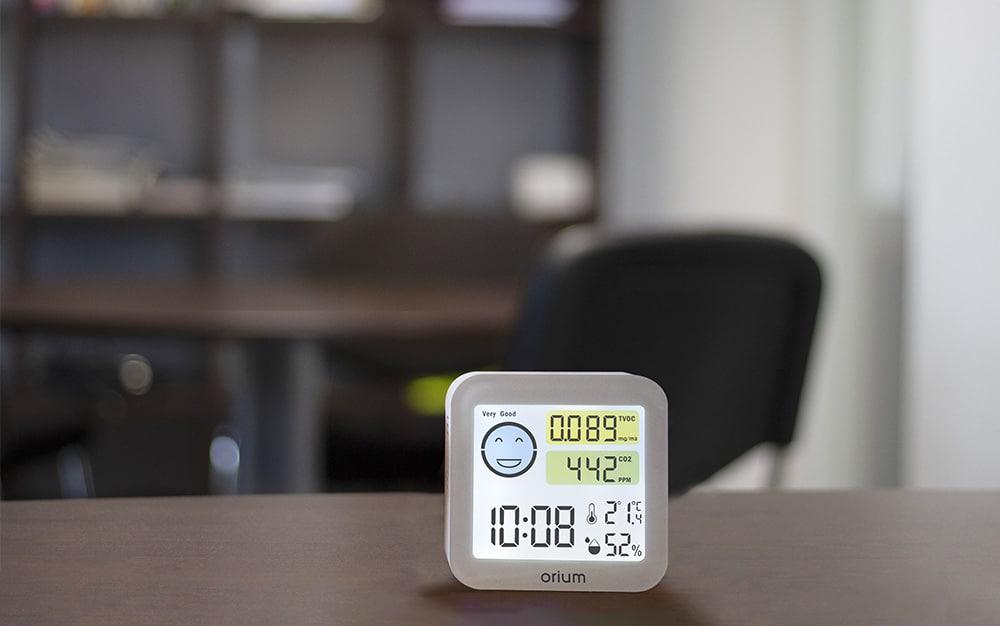Les entreprises s'équipent de mesureurs Quaelis pour le bien-être des collaborateurs